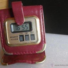 Despertadores antiguos: RELOJ DESPERTADOR DE VIAJE.. Lote 54458650