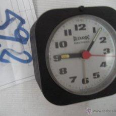 Despertadores antiguos: ANTIGUO RELOJ DESPERTADOR BLESSING ELECTRONIC WEST GERMANY NUEVO SIN USAR . Lote 54576152