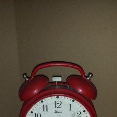 Despertadores antiguos: RELOJ DESPERTADOR GRANDE MICRO. Lote 54594406