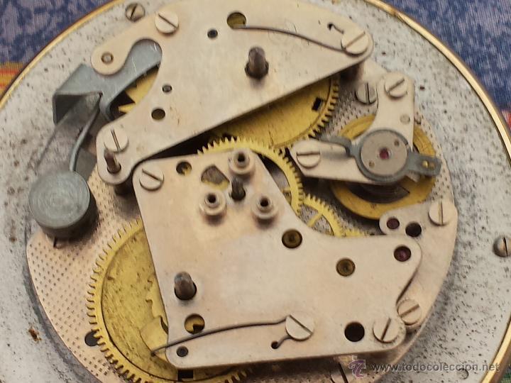 Despertadores antiguos: Reloj despertador ruso mecanico SLAVA de 1966 - Foto 5 - 121611771