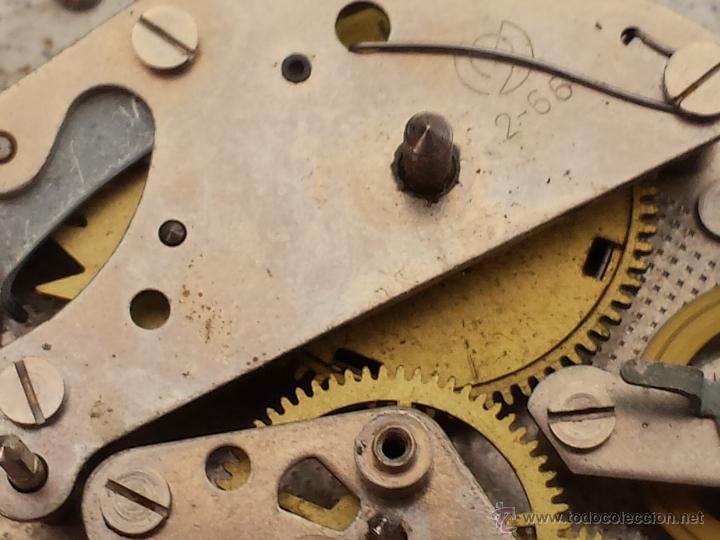 Despertadores antiguos: Reloj despertador ruso mecanico SLAVA de 1966 - Foto 10 - 121611771