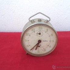 Despertadores antiguos: RELOJ DESPERTADOR REGULADORA. Lote 54877305