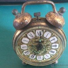 Despertadores antiguos: RELOJ GERMANICO BLESSING IGUAL QUE EL DEL COCHE DE REGRESO AL FUTURO LEER. Lote 54987931