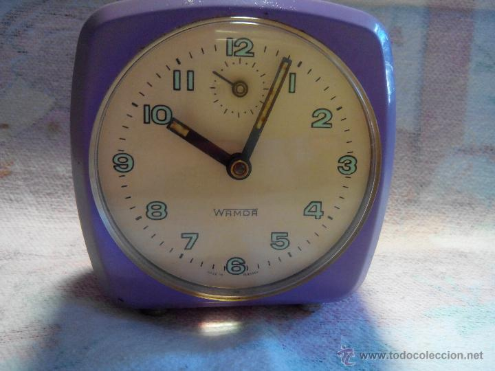 Despertadores antiguos: ANTIGUO DESPERTADOR - ALEMANIA. 1.960. FUNCIONANDO. (MUY ROBUSTO). DESCRIP Y FOTOS. - Foto 2 - 55048280