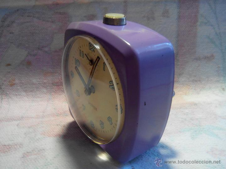 Despertadores antiguos: ANTIGUO DESPERTADOR - ALEMANIA. 1.960. FUNCIONANDO. (MUY ROBUSTO). DESCRIP Y FOTOS. - Foto 4 - 55048280