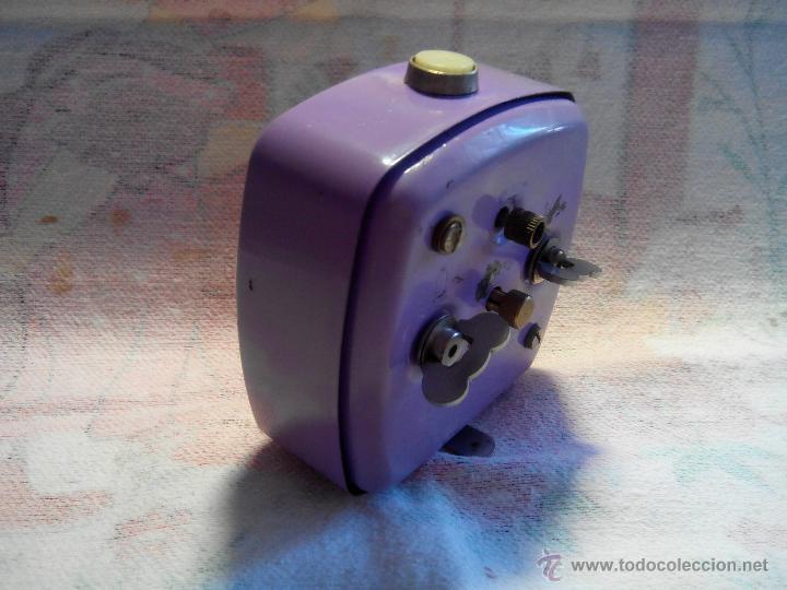 Despertadores antiguos: ANTIGUO DESPERTADOR - ALEMANIA. 1.960. FUNCIONANDO. (MUY ROBUSTO). DESCRIP Y FOTOS. - Foto 5 - 55048280