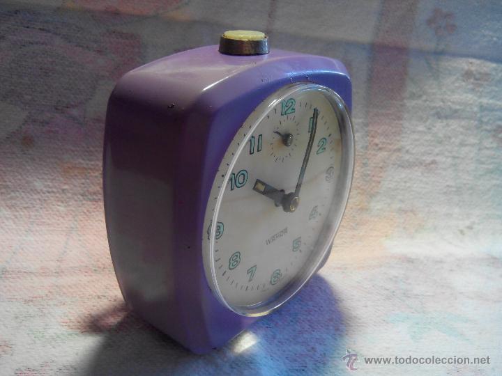 Despertadores antiguos: ANTIGUO DESPERTADOR - ALEMANIA. 1.960. FUNCIONANDO. (MUY ROBUSTO). DESCRIP Y FOTOS. - Foto 8 - 55048280