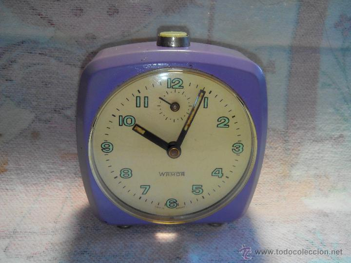 Despertadores antiguos: ANTIGUO DESPERTADOR - ALEMANIA. 1.960. FUNCIONANDO. (MUY ROBUSTO). DESCRIP Y FOTOS. - Foto 9 - 55048280