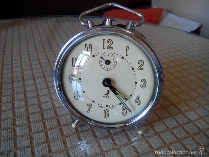 DESPERTADOR JAZ DEL 1.11.1.965 - . FUNCIONA CON PRECISION. INMEJORABLE ESTADO CON 53 AÑOS. INFO EN (Relojes - Relojes Despertadores)