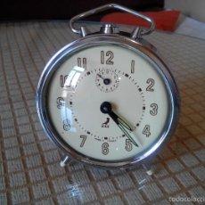 Despertadores antiguos: DESPERTADOR J A Z DEL 1.11.1.965 - . FUNCIONA CON PRECISION. INMEJORABLE ESTADO CON 53 AÑOS. INFO EN. Lote 55554307