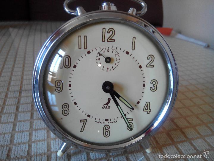 Despertadores antiguos: DESPERTADOR JAZ DEL 1.11.1.965 - . FUNCIONA CON PRECISION. INMEJORABLE ESTADO CON 53 AÑOS. INFO EN - Foto 10 - 55554307