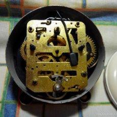 Despertadores antiguos: DESPERTADOR AÑOS 60. FUNC. CORRECTAMENTE, AMBAS CUERDAS, TESTADO AL COMPLETO. DESCRIP. Y FOTOS,. Lote 56112329