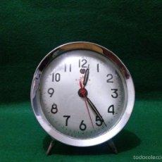 Despertadores antiguos: RELOJ DESPERTADOR HELM BRAND DECADA 60/70. Lote 56173466