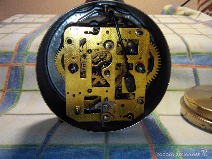 Despertadores antiguos: DESPERTADOR ESPAÑOL. AÑOS 60. FUNCIONANDO. TRATADO INTEG. (((IMPECABLE))) DESCRIP. Y FOTOS - Foto 2 - 56267630