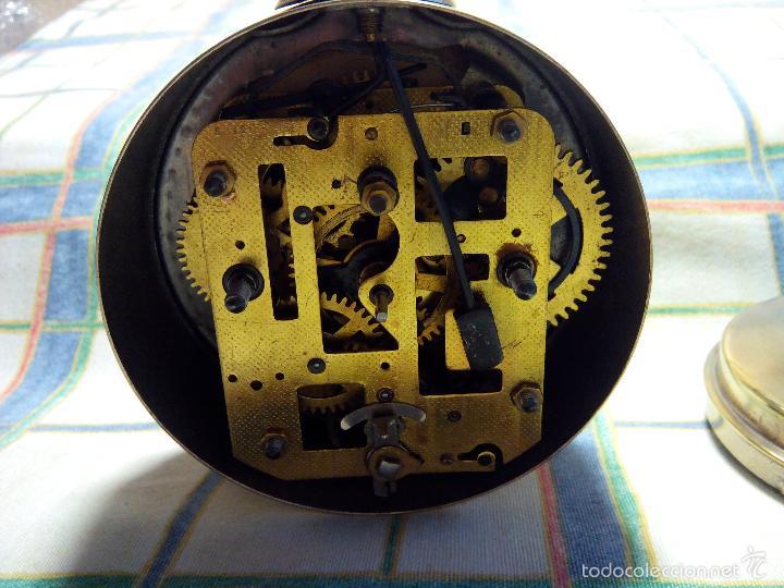 Despertadores antiguos: DESPERTADOR ESPAÑOL. AÑOS 60. FUNCIONANDO. TRATADO INTEG. (((IMPECABLE))) DESCRIP. Y FOTOS - Foto 3 - 56267630