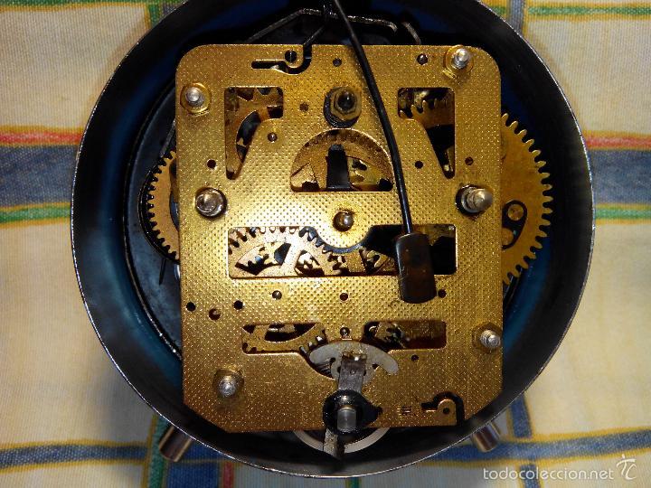 Despertadores antiguos: DESP. ESPAÑOL. META. 1.960. TESTADO AL COMPLETO. MAQUINA EXTRAOR.BELLEZA Y LIMPIEZA. FUNCIONANDO. - Foto 2 - 56287554