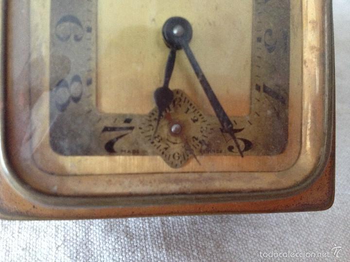 Despertadores antiguos: MÁQUINA RELOJ DESPERTADOR - Foto 2 - 56561296