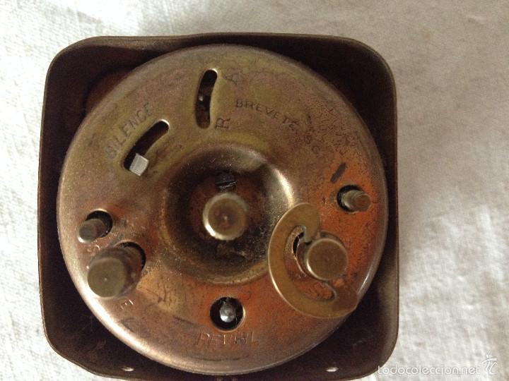 Despertadores antiguos: MÁQUINA RELOJ DESPERTADOR - Foto 5 - 56561296