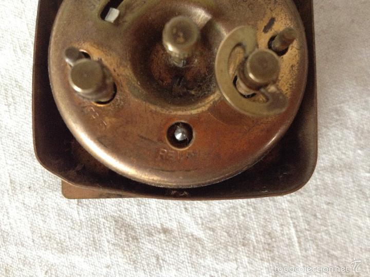 Despertadores antiguos: MÁQUINA RELOJ DESPERTADOR - Foto 6 - 56561296