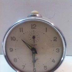 Despertadores antiguos: RELOJ DESPERTADOR TITAN. Lote 56941518