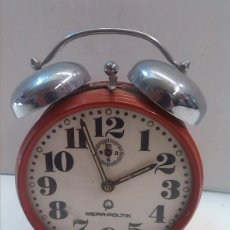 Despertadores antiguos: RELOJ DESPERTADOR. Lote 56941619