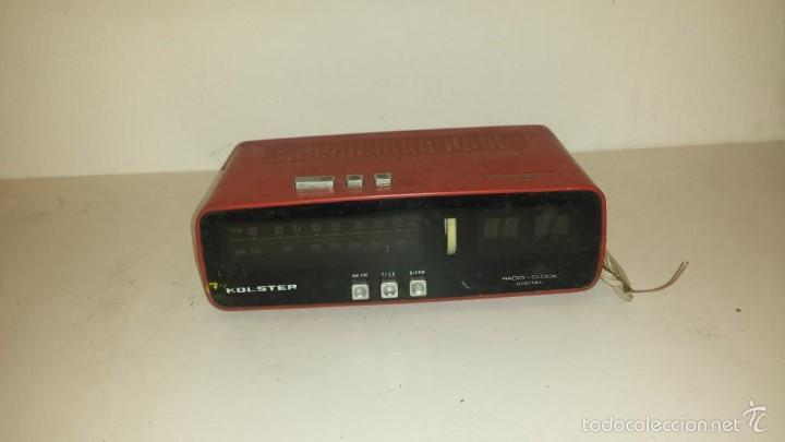 RADIO RELOJ DESPERTADOR KOLSTER (Relojes - Relojes Despertadores)