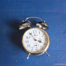 Despertadores antiguos: PRECIOSO RELOJ FESTINA,,MUY BONITAS CAMPANAS,LEER DESCRIPCION. Lote 57510473