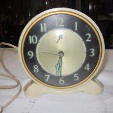 Despertadores antiguos - Reloj despertado relectrico (220V) Smiths. 11,5 cms. diámetro. - 57525421