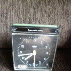 Despertadores antiguos: RELOJ BRAUN MADE IN GERMANY VINTAGE. Lote 57723921