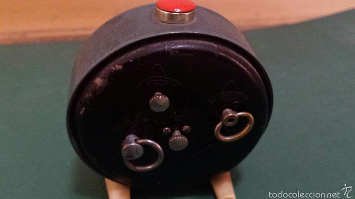 Despertadores antiguos: Antiguo Reloj despertador marca Slava años 60 - Foto 2 - 57917151