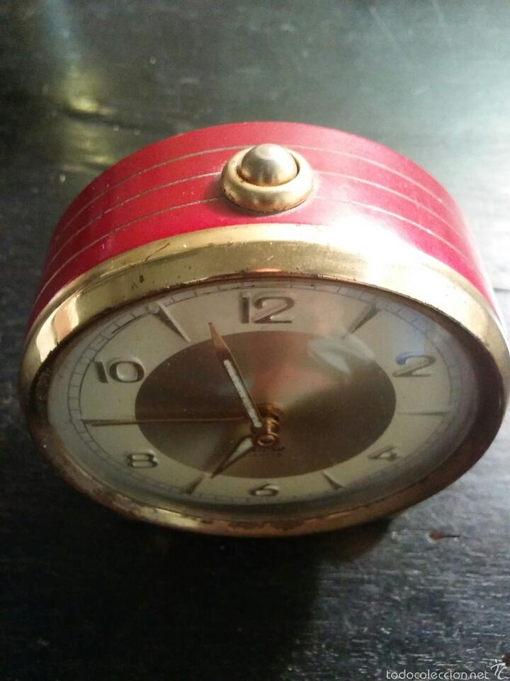 Despertadores antiguos: Reloj despertador marca Micro funcionando - Foto 2 - 58075814