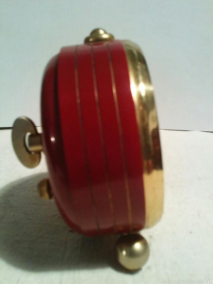 Despertadores antiguos: Reloj despertador marca Micro funcionando - Foto 4 - 58075814