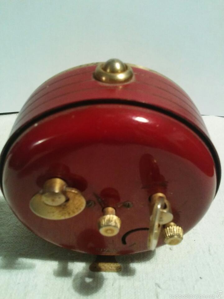 Despertadores antiguos: Reloj despertador marca Micro funcionando - Foto 5 - 58075814