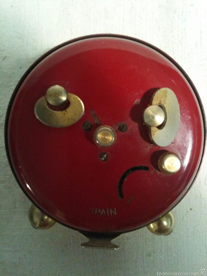 Despertadores antiguos: Reloj despertador marca Micro funcionando - Foto 6 - 58075814