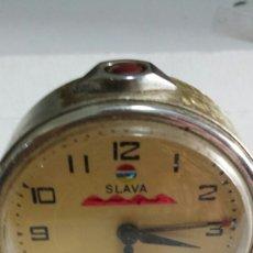 Despertadores antiguos: ANTIGUO RELOJ DESPERTADOR MARCA SLAVA AÑOS 60 -70. Lote 58283222