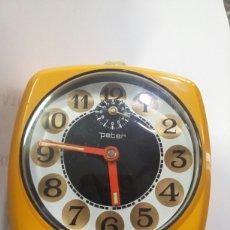 Despertadores antiguos: RELOJ DESPERTADOR PETER - FUNCIONA. Lote 58583427