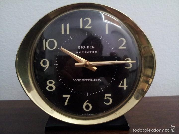 RELOJ ESCOCÉS MARCA WESTCLOX . MODELO BIG BEN (Relojes - Relojes Despertadores)