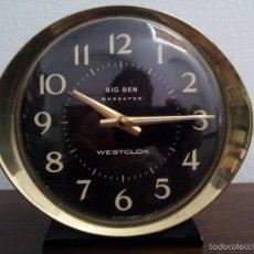 Despertadores antiguos: RELOJ ESCOCÉS MARCA WESTCLOX . MODELO BIG BEN. Lote 58912835
