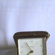 Despertadores antiguos: DESPERTADOR DE VIAJE FUNCIONANDO. Lote 59983067