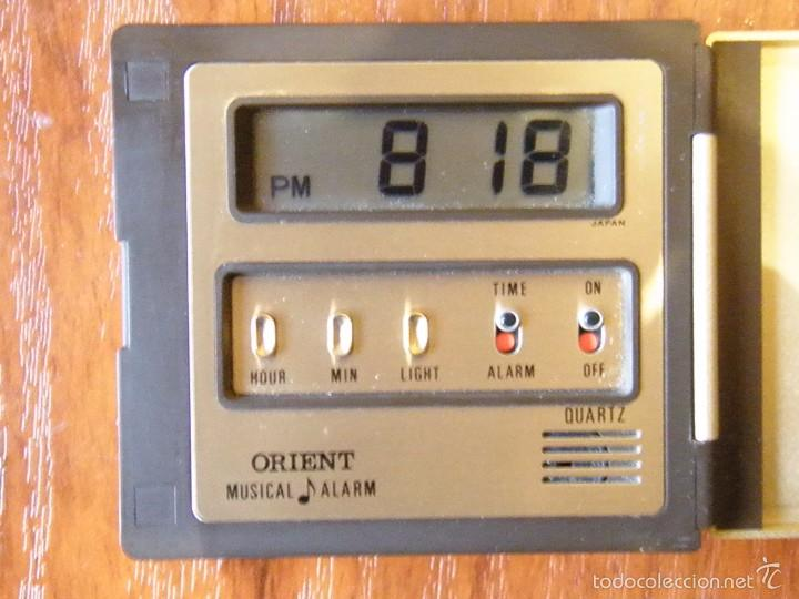 Despertadores antiguos: RELOJ DESPERTADOR DIGITAL VINTAGE ORIENT CON ALARMA MUSICAL - Foto 2 - 60290535