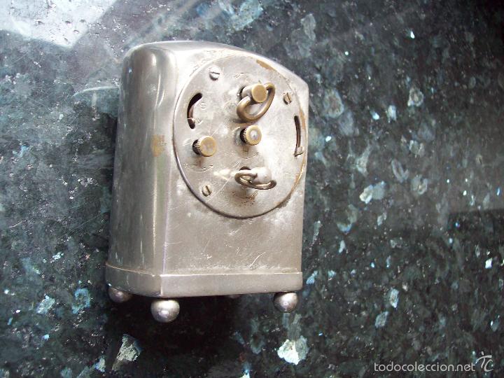 Despertadores antiguos: Antiguo reloj despertador VEGLIA funcionando - Foto 2 - 60423675