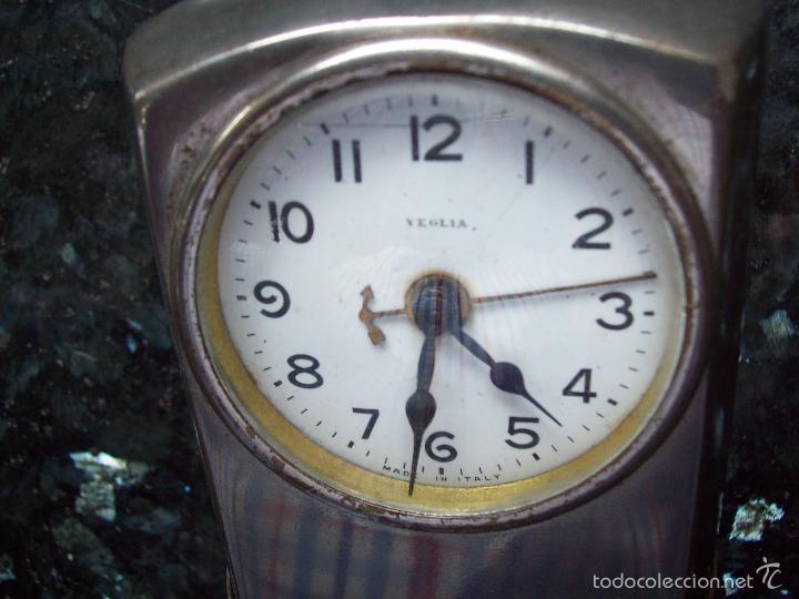 Despertadores antiguos: Antiguo reloj despertador VEGLIA funcionando - Foto 3 - 60423675