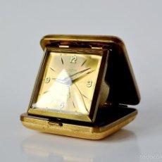 Despertadores antiguos - RELOJ DESPERTADOR EUROPA 7 JEWELS FUNCIONANDO. - 61053207