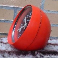 Despertadores antiguos: RELOJ JERGER MADE IN GERMANY PLÁSTICO AÑOS 60. Lote 61755500