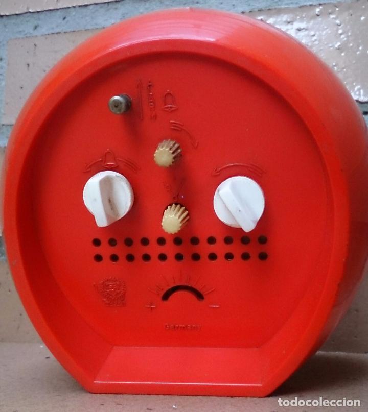 Despertadores antiguos: Reloj Jerger Made in Germany plástico años 60 - Foto 3 - 61755500