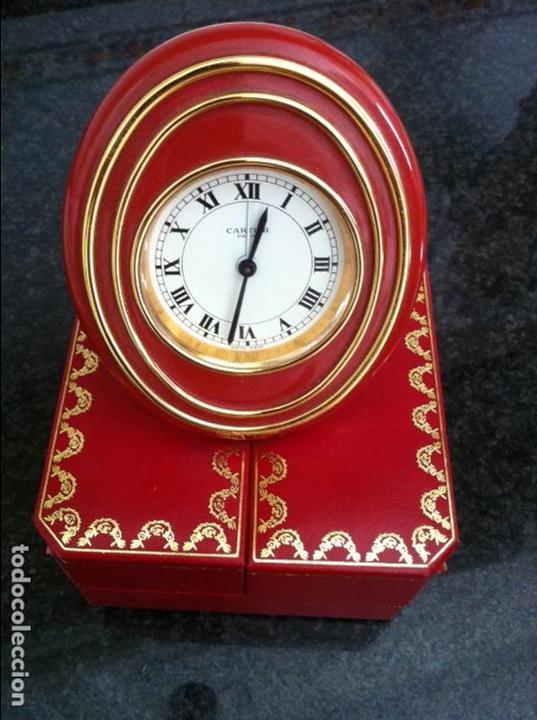 Despertadores antiguos: Reloj despertador .Cartier - Foto 4 - 62185508