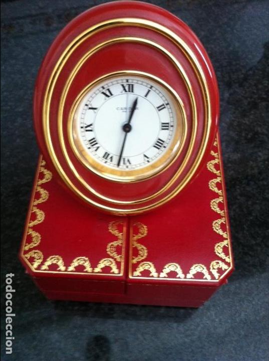 Despertadores antiguos: Reloj despertador .Cartier - Foto 5 - 62185508
