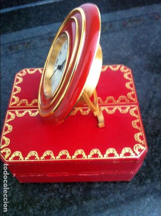 Despertadores antiguos: Reloj despertador .Cartier - Foto 6 - 62185508