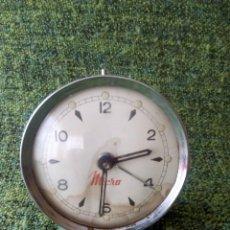 Despertadores antiguos: RELOJ DESPERTADOR PARA REPARAR O PIEZAS. Lote 62651500
