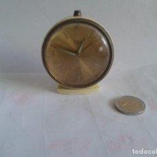 Despertadores antiguos: ANTIGUO RELOJ DESPERTADOR TITAN RUBI ESPAÑA. Lote 62757268